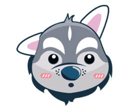 Lovercute Dog sticker #1197957