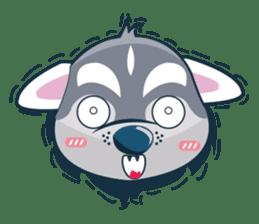 Lovercute Dog sticker #1197959