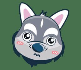 Lovercute Dog sticker #1197969