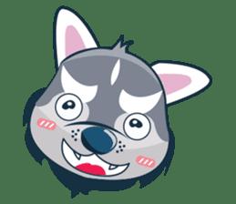 Lovercute Dog sticker #1197975
