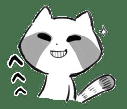 raccoon sticker #1199601