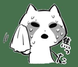 raccoon sticker #1199603