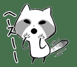 raccoon sticker #1199604