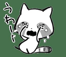 raccoon sticker #1199613