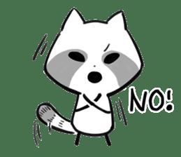 raccoon sticker #1199621