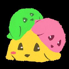 Iro-gami chicks