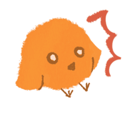 Iro-gami chicks sticker #1201634