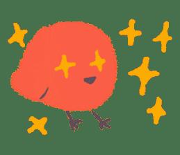 Iro-gami chicks sticker #1201647