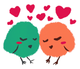 Iro-gami chicks sticker #1201648