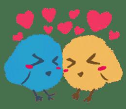 Iro-gami chicks sticker #1201649