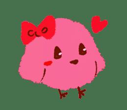 Iro-gami chicks sticker #1201651
