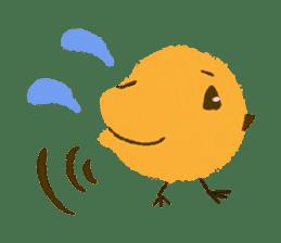 Iro-gami chicks sticker #1201656