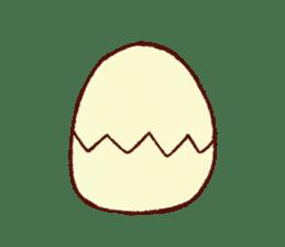 Iro-gami chicks sticker #1201664