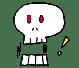 Lovely Skull sticker #1202634