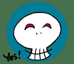 Lovely Skull sticker #1202636