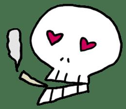 Lovely Skull sticker #1202640