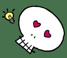 Lovely Skull sticker #1202643