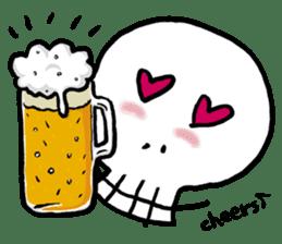 Lovely Skull sticker #1202644