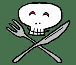 Lovely Skull sticker #1202645
