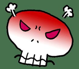 Lovely Skull sticker #1202648