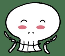 Lovely Skull sticker #1202649