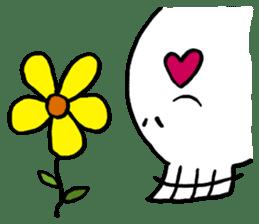 Lovely Skull sticker #1202655