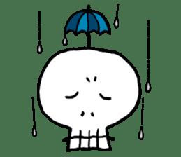 Lovely Skull sticker #1202657