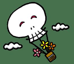 Lovely Skull sticker #1202658