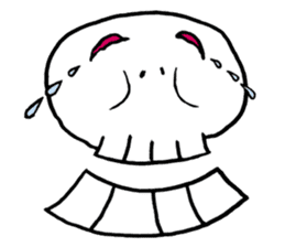 Lovely Skull sticker #1202662