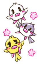Pumi chan Java sparrow sticker #1203587