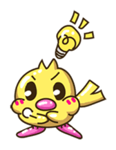 Pumi chan Java sparrow sticker #1203590
