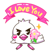 Pumi chan Java sparrow sticker #1203599