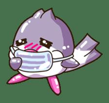 Pumi chan Java sparrow sticker #1203601