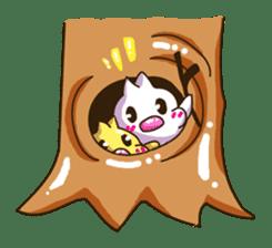 Pumi chan Java sparrow sticker #1203602