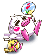 Pumi chan Java sparrow sticker #1203604