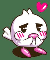 Pumi chan Java sparrow sticker #1203605