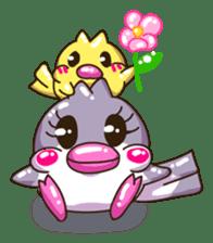 Pumi chan Java sparrow sticker #1203606