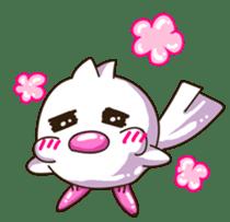 Pumi chan Java sparrow sticker #1203608