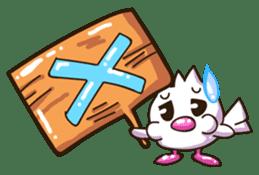 Pumi chan Java sparrow sticker #1203611