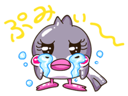 Pumi chan Java sparrow sticker #1203612