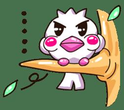 Pumi chan Java sparrow sticker #1203624