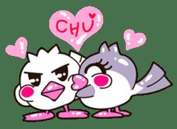 Pumi chan Java sparrow sticker #1203625