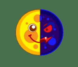 Sun & Moon with Friends sticker #1203726