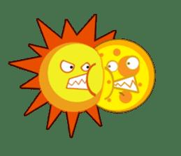Sun & Moon with Friends sticker #1203728