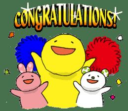 Congratulations! sticker #1203786