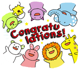 Congratulations! sticker #1203787