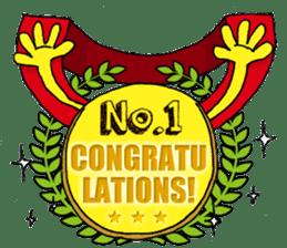 Congratulations! sticker #1203807