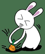Crazy stupid Rabbit.. ;P sticker #1204405