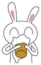 Crazy stupid Rabbit.. ;P sticker #1204412