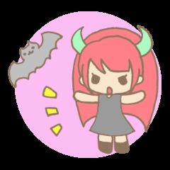 "Girl devil children""sa-tan""."